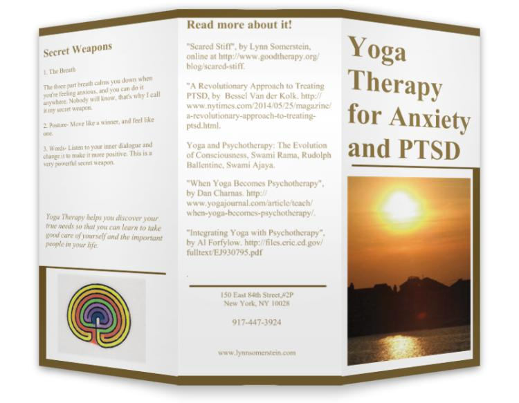 my brochure yoga therapy